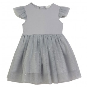 Ballet Girl Grey Dress