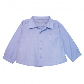 Baby Boy Shirt Light Blue