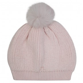 Bonnet fille rose