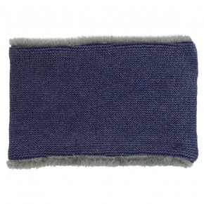 Girl Navy Neck Scarf