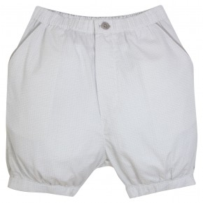 Baby Boy Jacquard Grey Bloomer