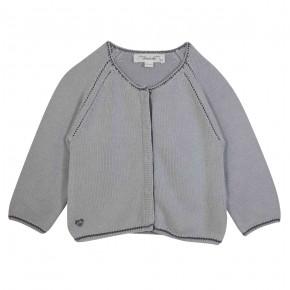 Knitted Grey Cardigan
