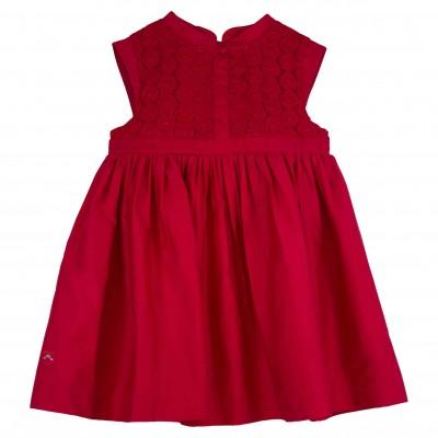 Red Cheongsam Dress