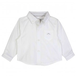 Boys Long sleeves shirt in White