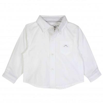 Boys Long sleeves shirt in White