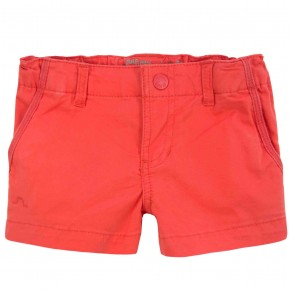 Orange girls shorts