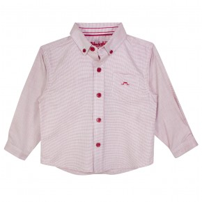 Boys Long sleeves shirt in Red