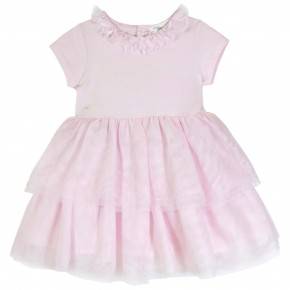 Girl Ballet Dress in Pink Tulle