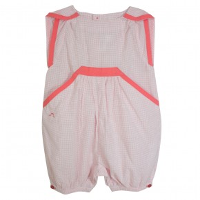 Baby Romper Coral