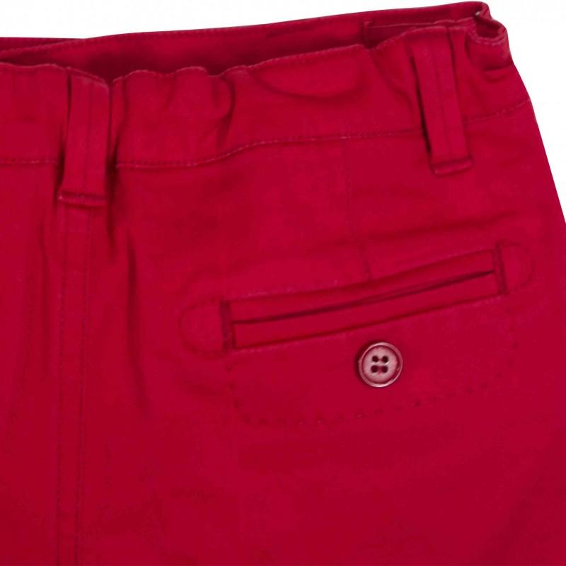 boy white shorts