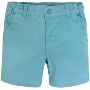 Boys white cotton shorts