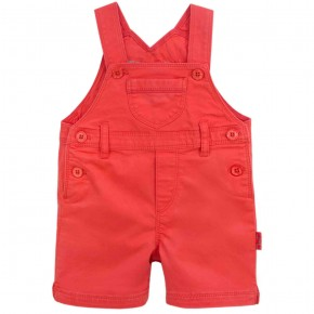 Unisex Orange Baby Overall