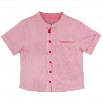 Boy Mandarin Collar Shirt