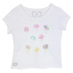 T-shirt Fille avec imprimés glaces