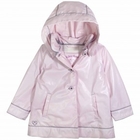 Girl Raincoat Pink