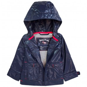 Boy Raincoat Navy