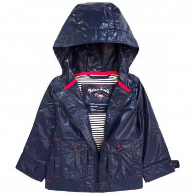 Boy Raincoat Navy