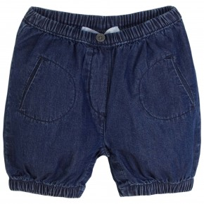 Baby Boy Bloomers in Denim Blue