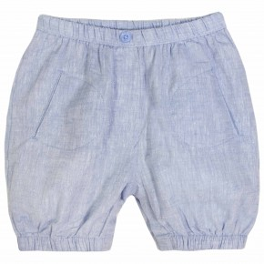 Bloomers bébé en jean denim