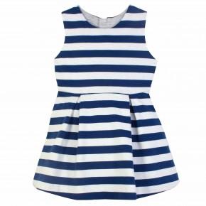 Stripes Navy Dress