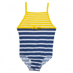 Girls stripes swimsuit