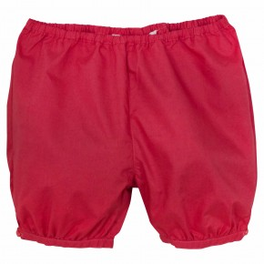 Unisex baby bloomer in Red