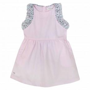 Girls pink liberty dress