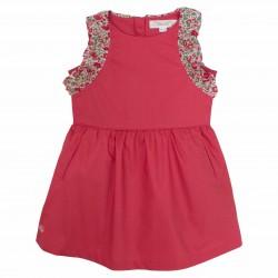Girls red liberty dress