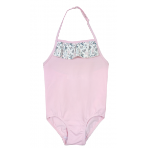 Girls Pink Liberty Swimsuit