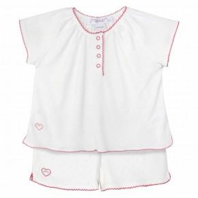 Pyjama Fille Blanc