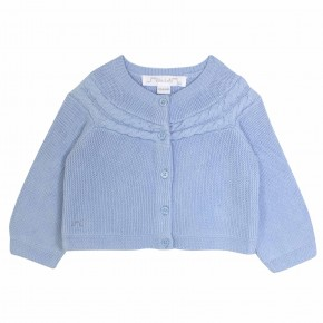 Blue Baby Boy Cardigan