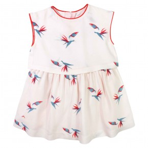 Toucan Print Skater Dress