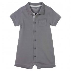 Baby Boy Grey Rompersuit