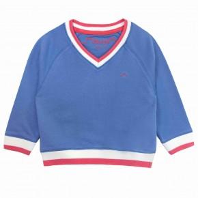 Boys blue V-Neck Sweater