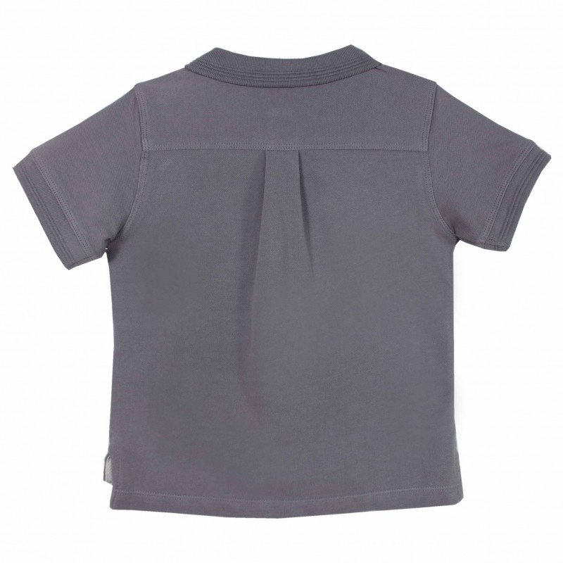 Boy Grey Polo Shirt