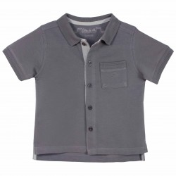 Boy Grey Polo Shirt