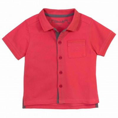 Boy Coral Polo Shirt