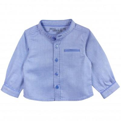 Jacquard Mao Collar Shirt