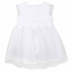 Robe de cérémonie blanche