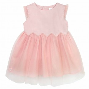Pink Girls Party Dress