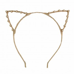 Cat ear champagne hairband