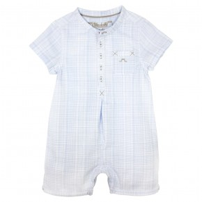 Baby Boy blue rompersuit