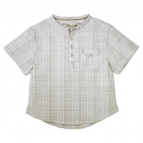 Boy Camel checkered shirt