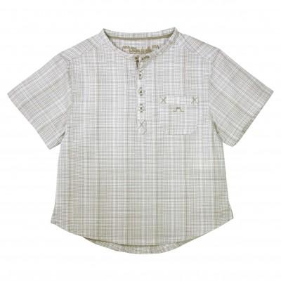 Boy Camel checkered shirt
