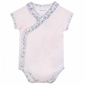 Baby Girl Pink Liberty Bodysuit