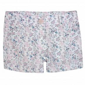 Girls Pink Floral Liberty Print Shorts