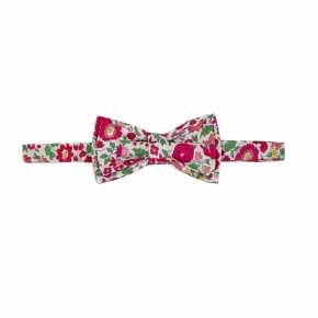 Floral Red Bow tie