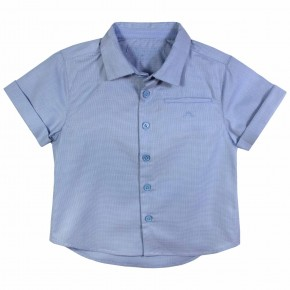 Jacquard Blue Boy Shirt