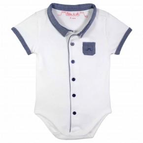 Baby Boy Indigo Bodysuit