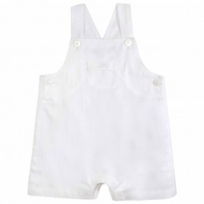 Baby Boy white Overall